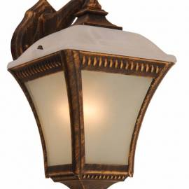 Градинска лампа, фенер, с горен носач, 60 W, E27