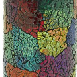 Соларна лампа - мозайка