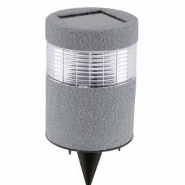 Соларна лампа - имитация на камък