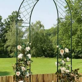 Арка за рози - метална 124 х 36 х 238 см