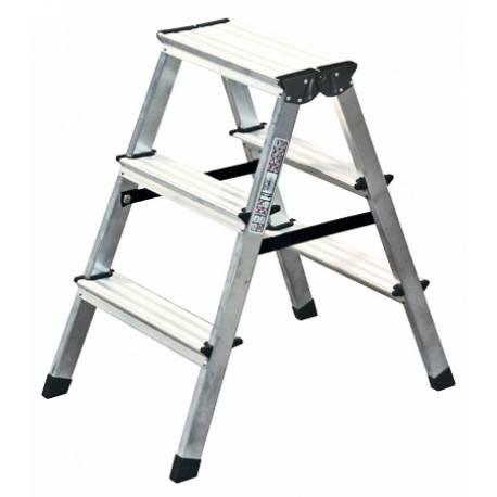 Алуминиева стълба, 2х3 стъпала