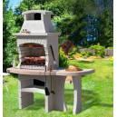 Imagén: Градинско барбекю, тип камина