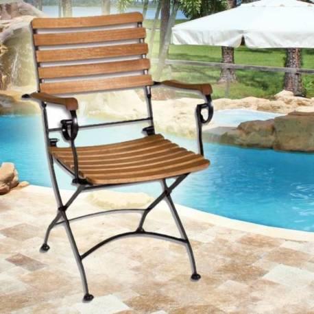 Градински стол - сгъваем