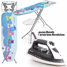 Дъска за гладене Nuvole + ютия Iono Revolution