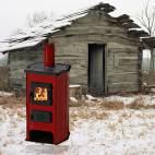 Печка на дърва и твърдо гориво HIT - 12 kW