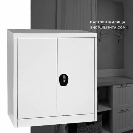 Метален шкаф - нисък с един рафт