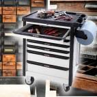 Метален работен шкаф за инструменти - 87x67x45 см