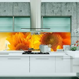 Термоустойчив гръб за кухня - принт - Природа