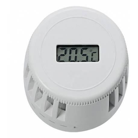 Термоглава за радиатор с чип и дисплей за температурата