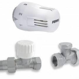 Термоглава за радиатор - Ferro ZTM1, комплект