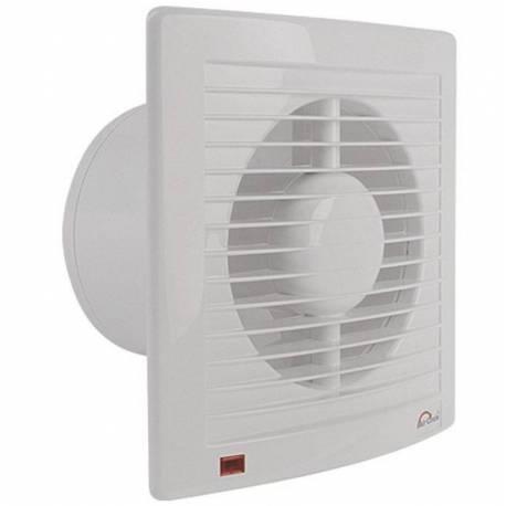 Вентилатор за баня Air Circle,125 мм, бял, с таймер