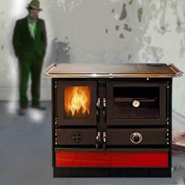Печка на твърдо гориво MAGNUM - 12kw - произход - Сърбия, десен комин