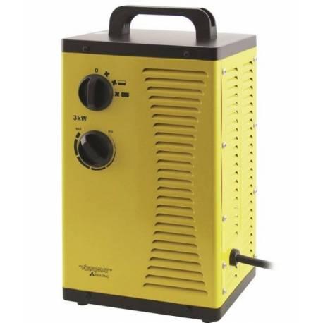 Индустриален калорифер 3000W, 38x20x15 см