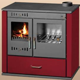 Готварска печка Виктория лукс, червена