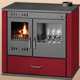 Imagén: Готварска печка  Виктория лукс, червена - 9,2 kW