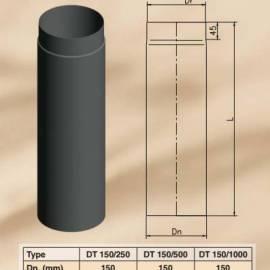 Димоoтводна тръба - права DT 150/1000