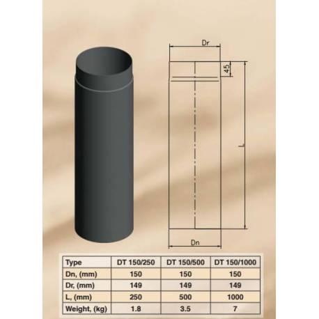 Димоoтводна тръба - права DT 150/250