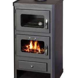 Готварска печка - тип камина, с фурна - Норма ФТВ