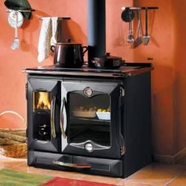 Imagén: Готварска чугунена печка - Suprema, черна - 8,5 kW