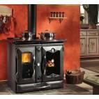 Готварска чугунена печка - ThermoSuprema compact, черна