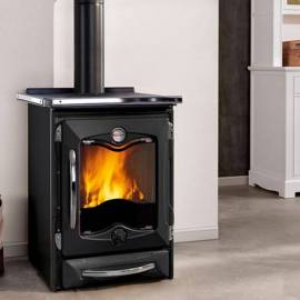 Готварска чугунена печка - ThermoCucinotta EVO черна