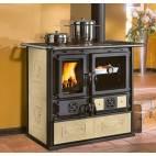 Готварска печка Rosa Reverse с керамична облицовка