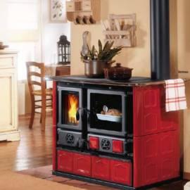 Готварска печка Rosa Maiolica с керамична облицовка