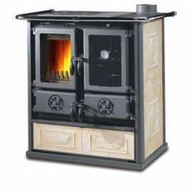 Готварска печка - Rossetta с керамична облицовка