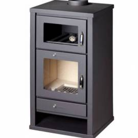 Imagén: Готварска печка  - тип камина, с фурна - Delux F - 11,3 kW