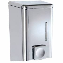 Дозатор за сапун, хромиран, 0,500 л