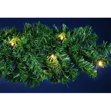Светещ гирлянд - 5м, с 40 Led, за градина