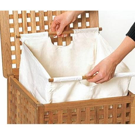 Мебели за баня - кош за пране 45 x 45 x 67 см