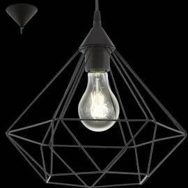 Пендел-висяща лампа 1хE27 Ø325 черно-мат TARBES