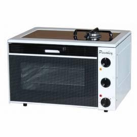 Печка Раховец 12КГ - керамичен плот и газова горелка