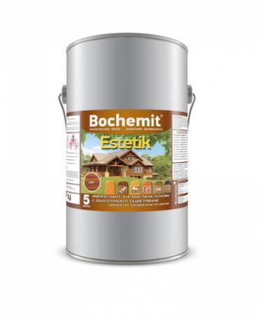 Импрегнатор за дърво - Бохемит Естетик, 5 кг - бор