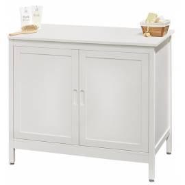 Шкаф под мивка -  89х77,5х51 см, дърво бял