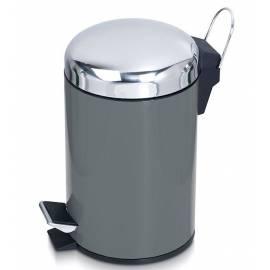 Кошче за боклук с педал 3 л, метал
