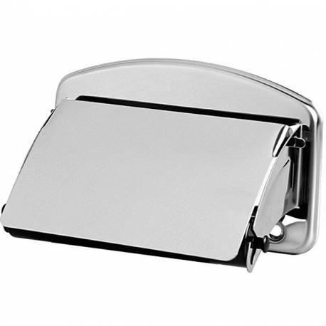 Държач за тоалетна хартия с капак 145x98x60 мм