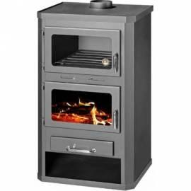 Готварска печка  - тип камина, с фурна - Лотос макс ФТ
