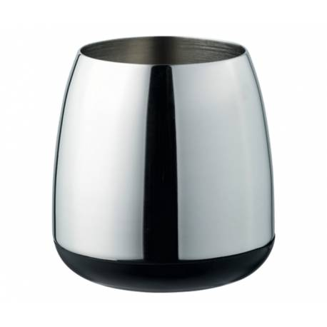 Чаша за четки за зъби, хромирана, 110x124x100 mm