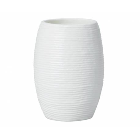 Чаша за четки Keramik, черна - 115 мм