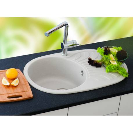 Кухненска мивка xVenera Plus, сива