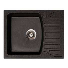 Кухненска мивка xQuadro M, черна