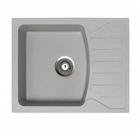 Кухненска мивка xQuadro M, сива