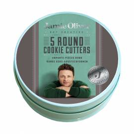 Комплект от 5бр форми за десерти - кръгли Jamie Oliver