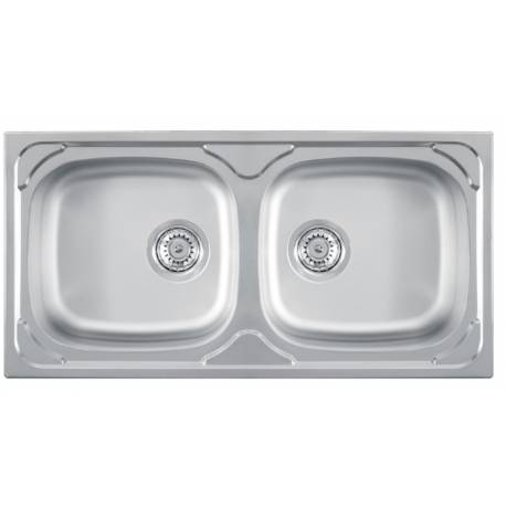 Кухненска мивка LUNA 2D лен
