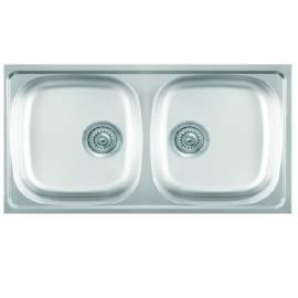 Кухненска мивка LUNA Flex 2D гланц