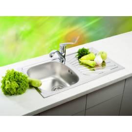 Кухненска мивка LUNA Flex 1D лен