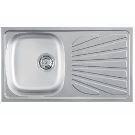 Кухненска мивка LUNA Flex 1D гланц