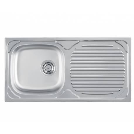 Кухненска мивка LUNA 1D гланц